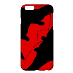 Black and red lizard  Apple iPhone 6 Plus/6S Plus Hardshell Case