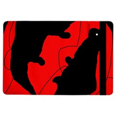 Black and red lizard  iPad Air 2 Flip