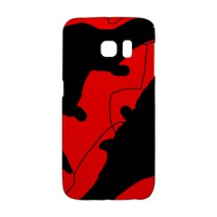 Black and red lizard  Galaxy S6 Edge