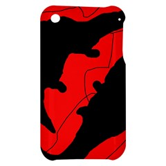 Black and red lizard  Apple iPhone 3G/3GS Hardshell Case