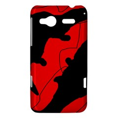Black and red lizard  HTC Radar Hardshell Case