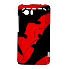 Black and red lizard  HTC Vivid / Raider 4G Hardshell Case