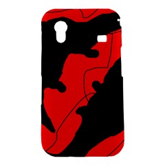 Black and red lizard  Samsung Galaxy Ace S5830 Hardshell Case