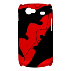 Black and red lizard  Samsung Galaxy Nexus S i9020 Hardshell Case