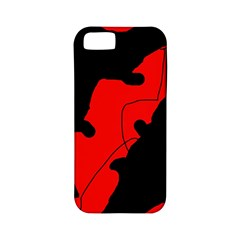 Black and red lizard  Apple iPhone 5 Classic Hardshell Case (PC+Silicone)