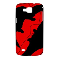 Black and red lizard  Samsung Galaxy Premier I9260 Hardshell Case