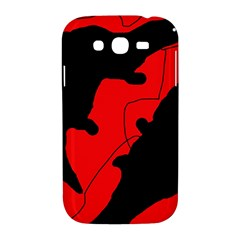 Black and red lizard  Samsung Galaxy Grand DUOS I9082 Hardshell Case
