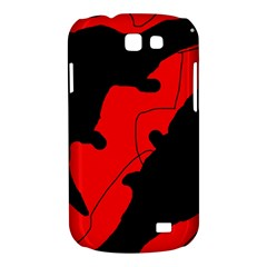 Black and red lizard  Samsung Galaxy Express I8730 Hardshell Case