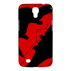Black and red lizard  Samsung Galaxy Mega 6.3  I9200 Hardshell Case