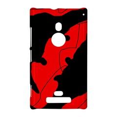 Black and red lizard  Nokia Lumia 925