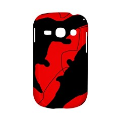 Black and red lizard  Samsung Galaxy S6810 Hardshell Case