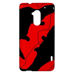 Black and red lizard  HTC One Max (T6) Hardshell Case