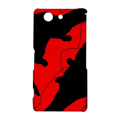 Black and red lizard  Sony Xperia Z3 Compact