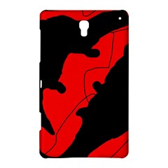 Black and red lizard  Samsung Galaxy Tab S (8.4 ) Hardshell Case