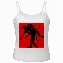 Abstract man Ladies Camisoles