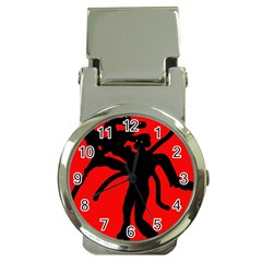 Abstract man Money Clip Watches