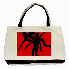Abstract man Basic Tote Bag (Two Sides)