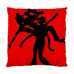 Abstract man Standard Cushion Case (One Side)