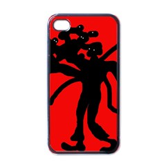 Abstract man Apple iPhone 4 Case (Black)