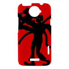 Abstract man HTC One X Hardshell Case