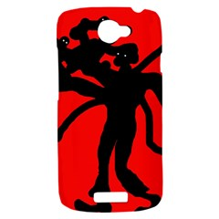 Abstract man HTC One S Hardshell Case