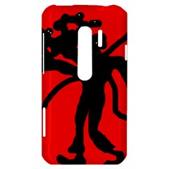 Abstract man HTC Evo 3D Hardshell Case