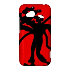 Abstract man HTC Droid Incredible 4G LTE Hardshell Case