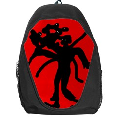 Abstract man Backpack Bag