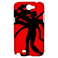 Abstract man Samsung Galaxy Note 2 Hardshell Case