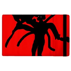 Abstract man Apple iPad 2 Flip Case