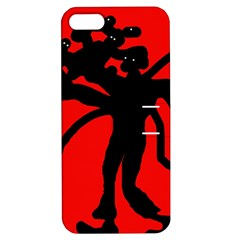 Abstract man Apple iPhone 5 Hardshell Case with Stand