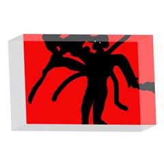Abstract man 4 x 6  Acrylic Photo Blocks
