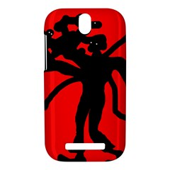 Abstract man HTC One SV Hardshell Case