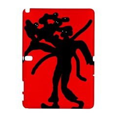 Abstract man Samsung Galaxy Note 10.1 (P600) Hardshell Case
