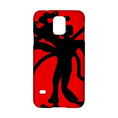 Abstract man Samsung Galaxy S5 Hardshell Case