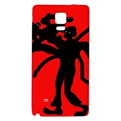 Abstract man Galaxy Note 4 Back Case