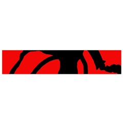 Abstract man Flano Scarf (Small)
