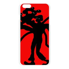 Abstract man Apple Seamless iPhone 6 Plus/6S Plus Case (Transparent)