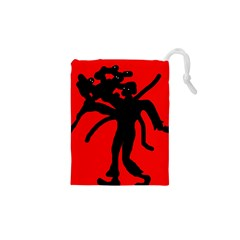 Abstract Man Drawstring Pouches (xs)