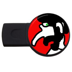 Man USB Flash Drive Round (2 GB)