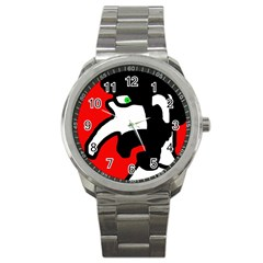 Man Sport Metal Watch