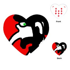 Man Playing Cards (Heart)
