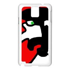 Man Samsung Galaxy Note 3 N9005 Case (White)