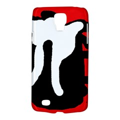Red, black and white Galaxy S4 Active