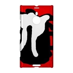 Red, black and white Nokia Lumia 1520
