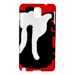 Red, black and white Samsung Galaxy Note 3 N9005 Hardshell Case