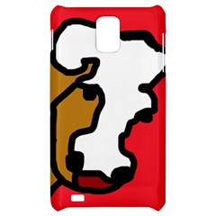 Artistic cow Samsung Infuse 4G Hardshell Case