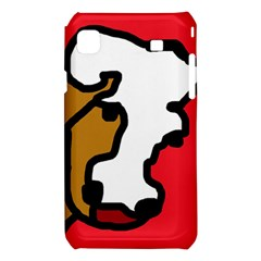 Artistic cow Samsung Galaxy S i9008 Hardshell Case
