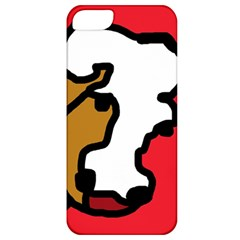 Artistic cow Apple iPhone 5 Classic Hardshell Case