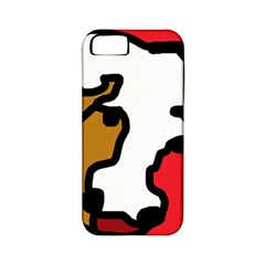 Artistic cow Apple iPhone 5 Classic Hardshell Case (PC+Silicone)